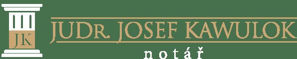 logo Notář JUDr. Josef Kawulok